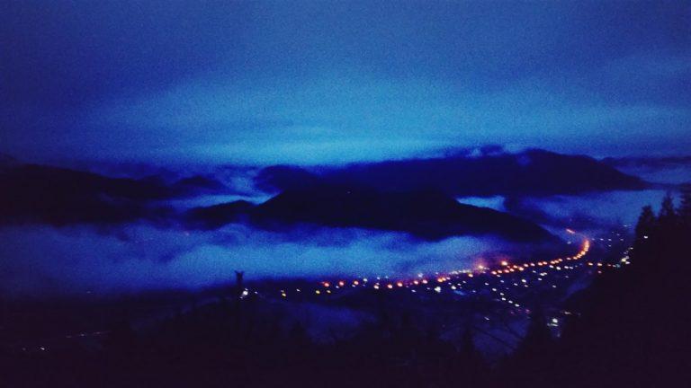 大阪自由行-日本機加酒-大阪景點-開始天光雲海初現