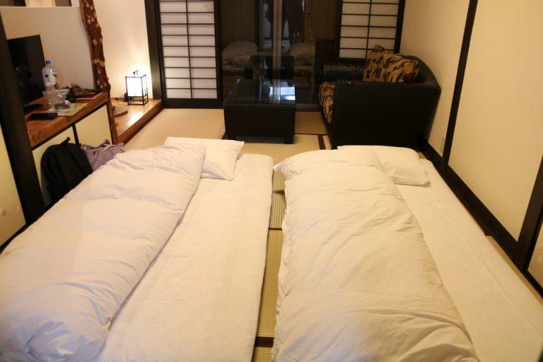 九州自由行-福岡自由行-私人風呂的房間