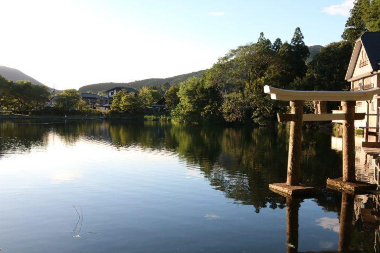 九州自由行-福岡自由行-景色優美湖水平靜