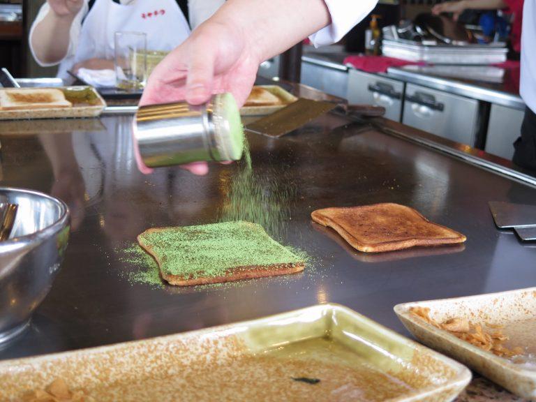 九州自由行-鹿兒島自由行-我們選擇了朱古力及綠茶味粉