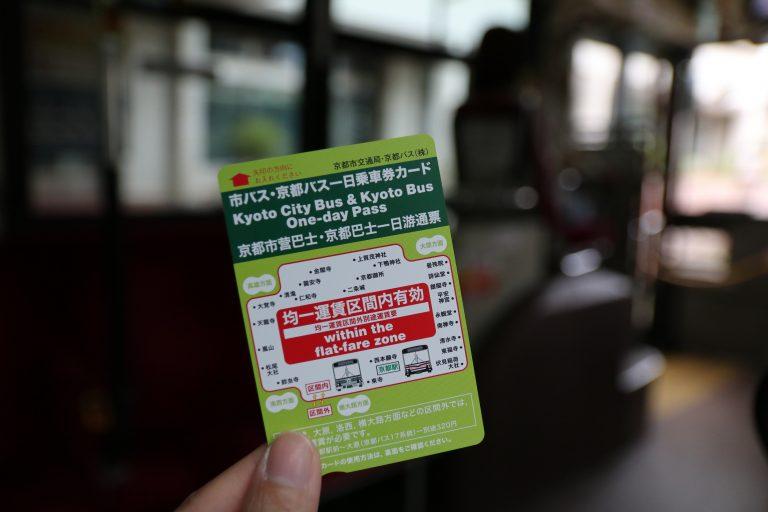 市區巴士一日券-京都自由行-京都景點-大阪自由行-大阪景點