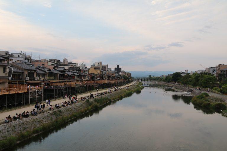 鴨川-京都自由行-京都景點-大阪自由行-大阪景點