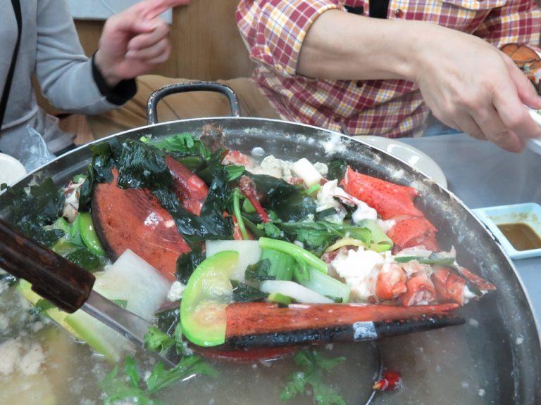 首爾自由行-韓國自由行-上湯龍蝦賣相了了但香味俱佳