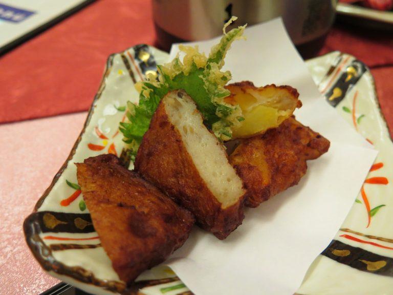 九州自由行-鹿兒島自由行-日本機加酒-還有添加了炸物有點像魚蛋