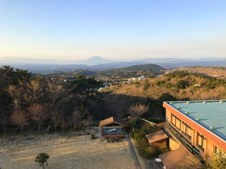 九州自由行-鹿兒島自由行-日本機加酒-睡醒又看到一幅美麗的櫻島風景畫