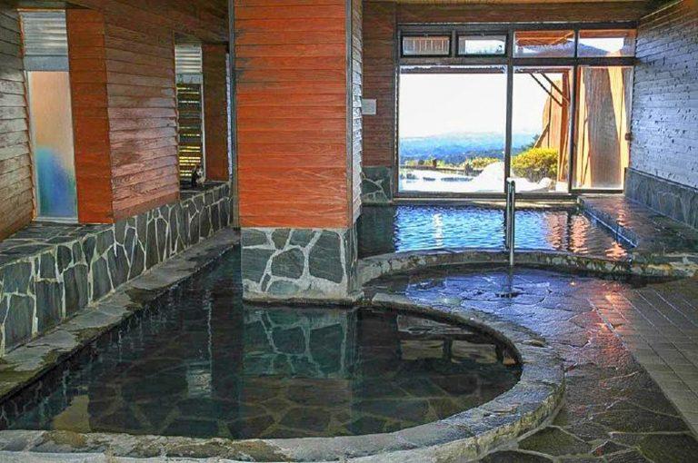 九州自由行-鹿兒島自由行-日本機加酒-睡醒即到大浴場享用溫泉這邊的泉水比昨晚的赤松之湯較溫和旅館圖片
