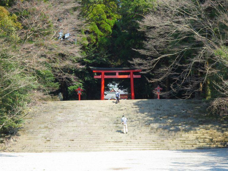 九州自由行-鹿兒島自由行-日本機加酒-霧島神宮的入口