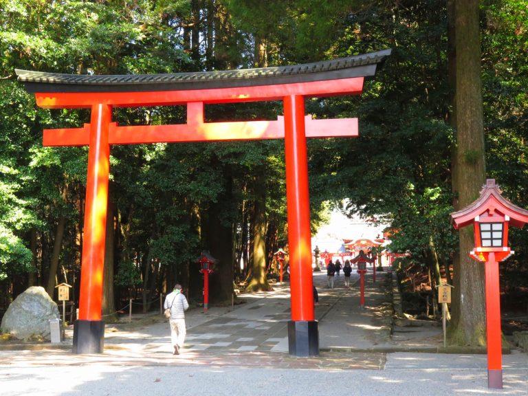 九州自由行-鹿兒島自由行-日本機加酒-這天來參拜的遊人不太多
