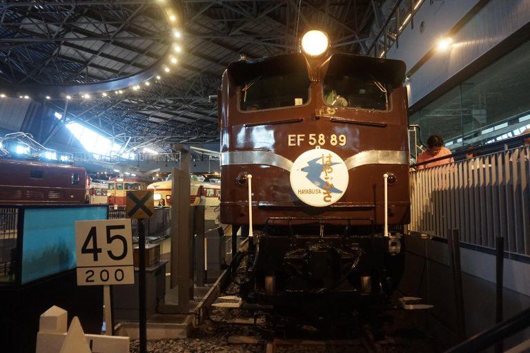 東京自由行-東京好去處-東京景點-EF58型電車頭