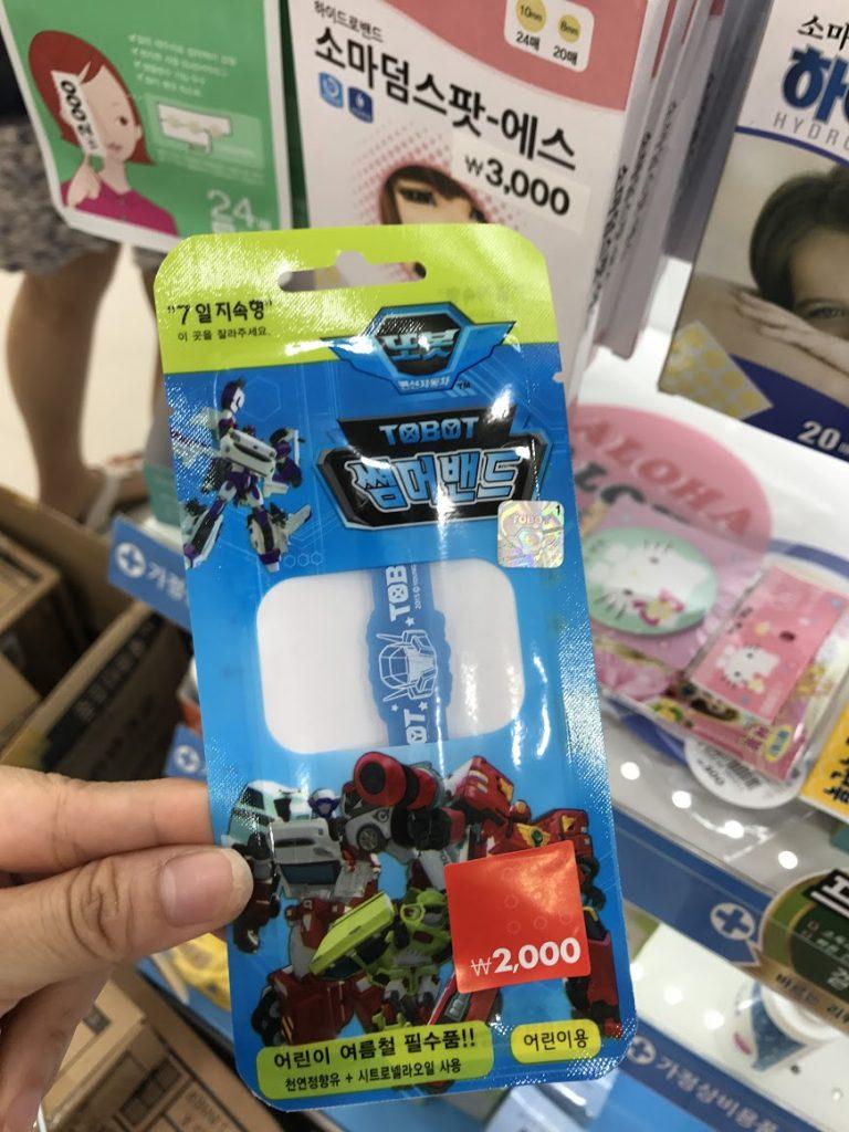 防蚊手帶-首爾自由行-韓國自由行-韓國旅遊-首爾景點-韓國機票