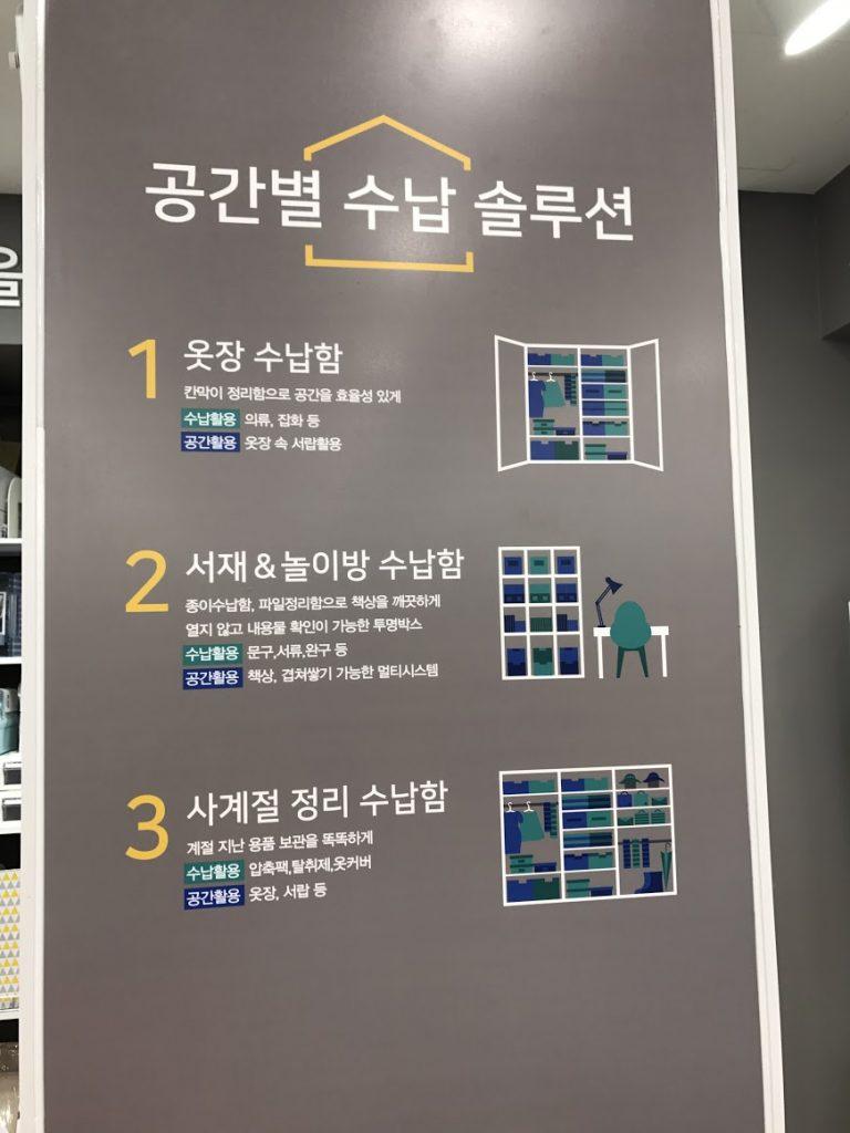 教顧客如何利用空間收納-首爾自由行-韓國自由行-韓國旅遊-首爾景點-韓國機票