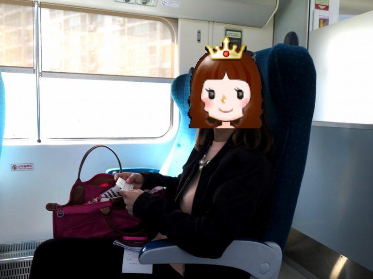 首爾自由行-韓國自由行-韓國旅遊-首爾景點-韓國機票-由首爾弦大出發,坐火車到加平站,火車位夠闊,幾舒適