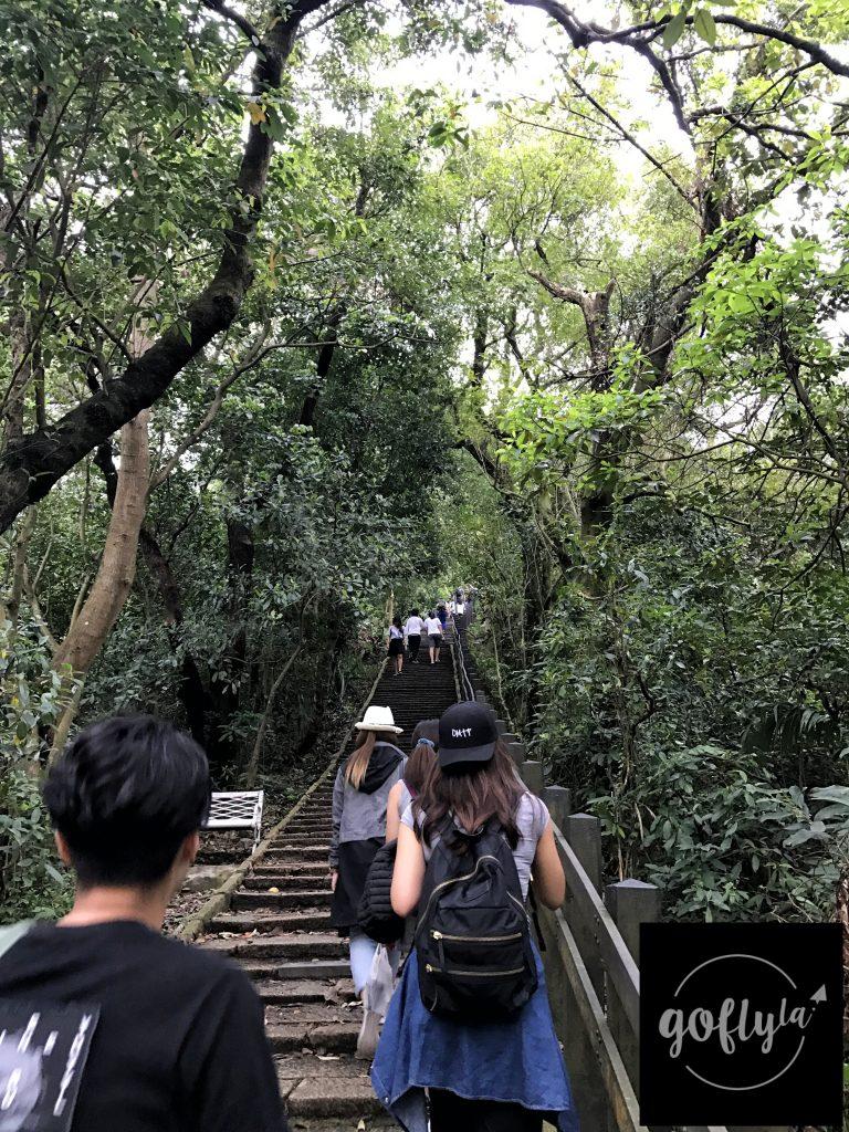 台北自由行-台北好去處-台北住宿-台灣自由行-機加酒-一條看不到盡頭的天梯正在等待我們挑戰