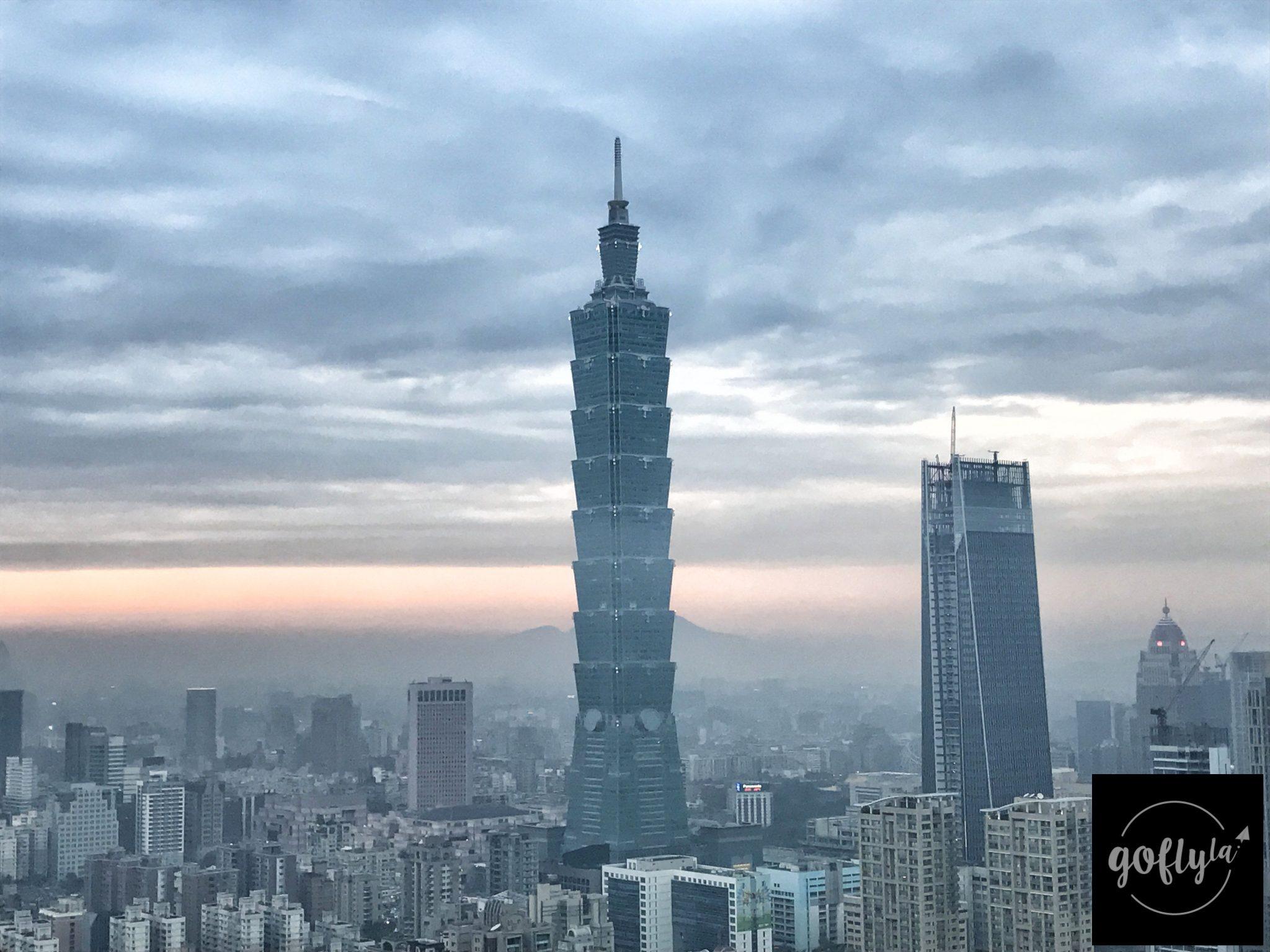 台北自由行-台北好去處-台北住宿-台灣自由行-機加酒-密雲滿佈,好彩冇落雨