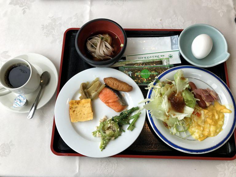 九州自由行-鹿兒島自由行-日本機加酒-福岡自由行-福岡景點-指宿鳳凰飯店的自助早餐,滿多選擇,溫泉蛋好味道