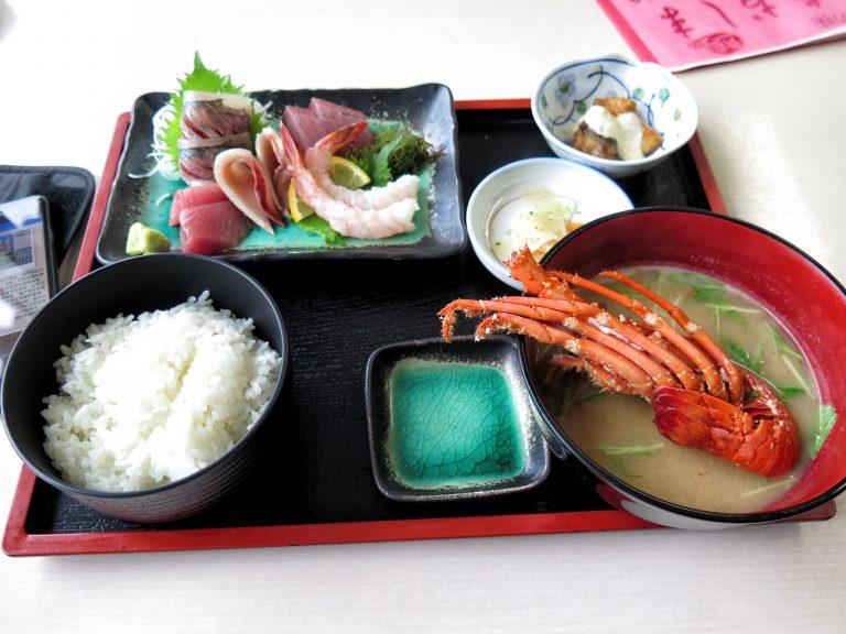 九州自由行-鹿兒島自由行-日本機加酒-福岡自由行-福岡景點-龍蝦刺身定食