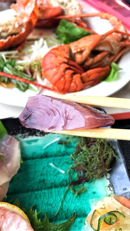 九州自由行-鹿兒島自由行-日本機加酒-福岡自由行-福岡景點-最出色的是吞拿魚腩,入口溶化,完全是漁港的鮮味