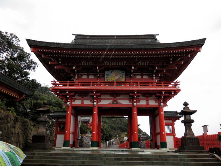 九州自由行-鹿兒島自由行-日本機加酒-福岡自由行-福岡景點-鵜戸神宮正門