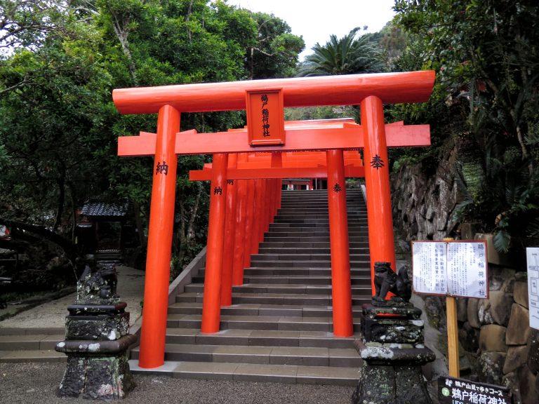 九州自由行-鹿兒島自由行-日本機加酒-福岡自由行-福岡景點-全日本有多達4萬多個稻河神社,位於京都的伏見稻河神社為總本社