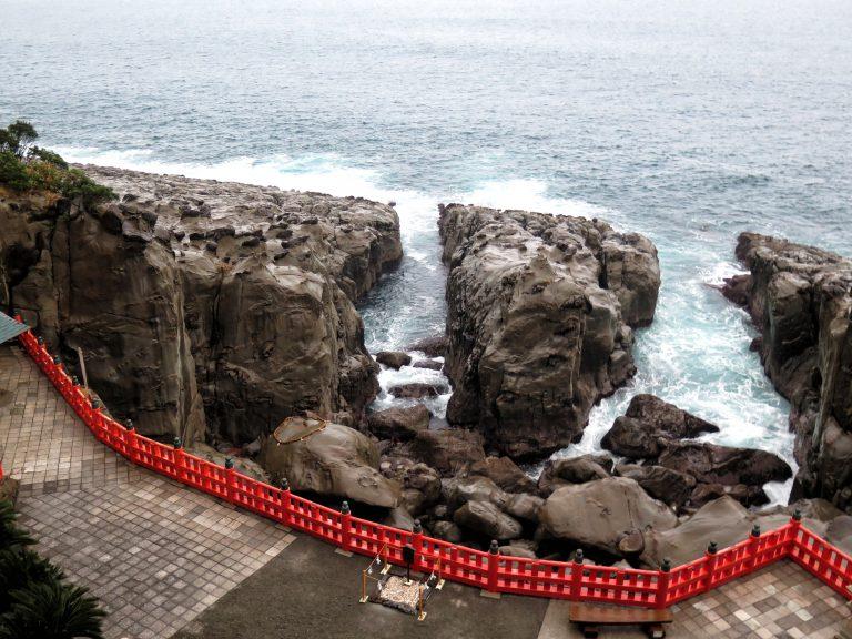 九州自由行-鹿兒島自由行-日本機加酒-福岡自由行-福岡景點-鵜戸神宮外的景色