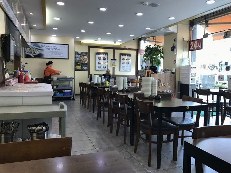 餐廳整潔-首爾自由行-韓國自由行-韓國旅遊-首爾景點-韓國機票