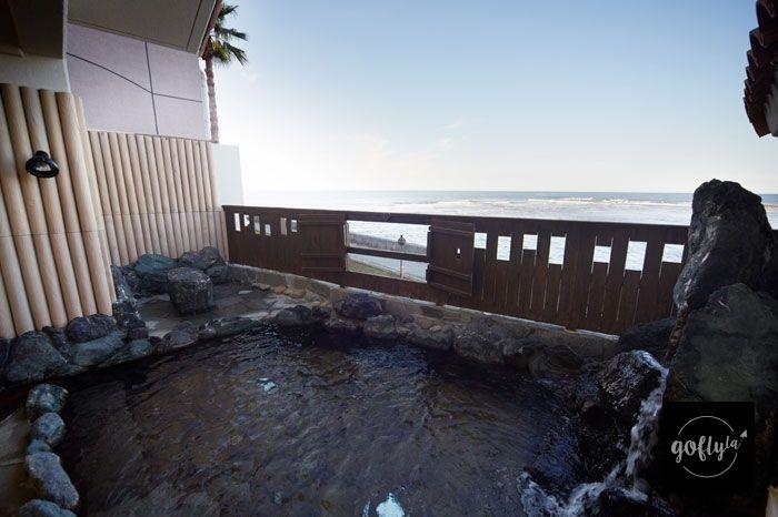 九州自由行-鹿兒島自由行-日本機加酒-旅館提供的「貸切風呂」(酒店圖片)