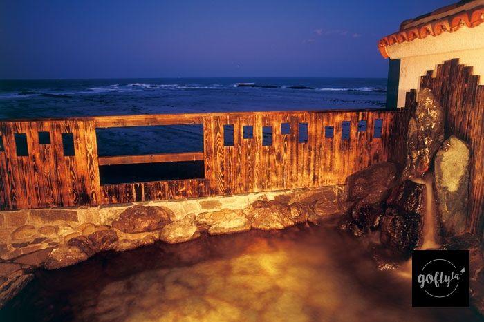 九州自由行-鹿兒島自由行-日本機加酒-推開木窗,浸著溫泉吹著海風,kimochi呢!(酒店圖片)