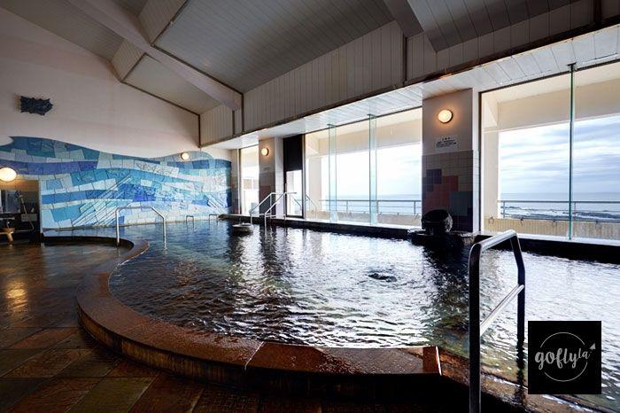 九州自由行-鹿兒島自由行-日本機加酒-旅館內的公眾浴場,但不能出外。(酒店圖片)
