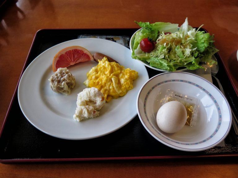 九州自由行-鹿兒島自由行-日本機加酒-旅館提供的自助早餐,款式不多