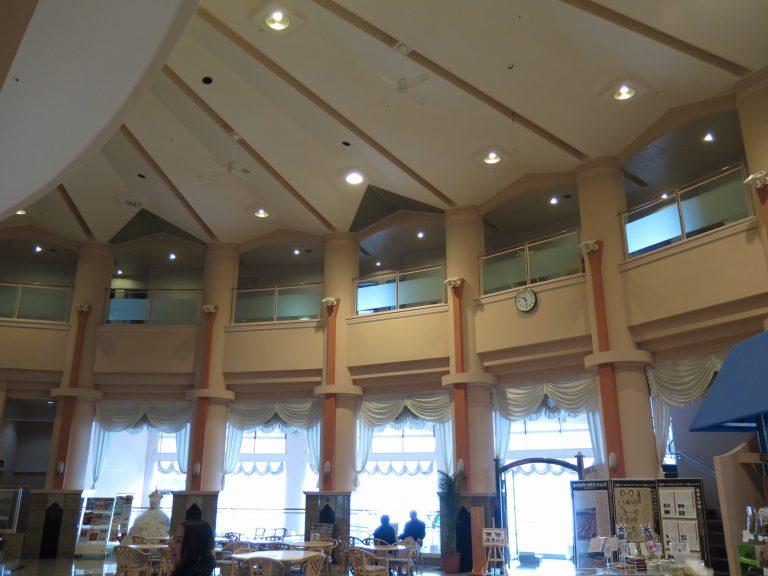 九州自由行-鹿兒島自由行-日本機加酒-旅館大堂,光猛又開明