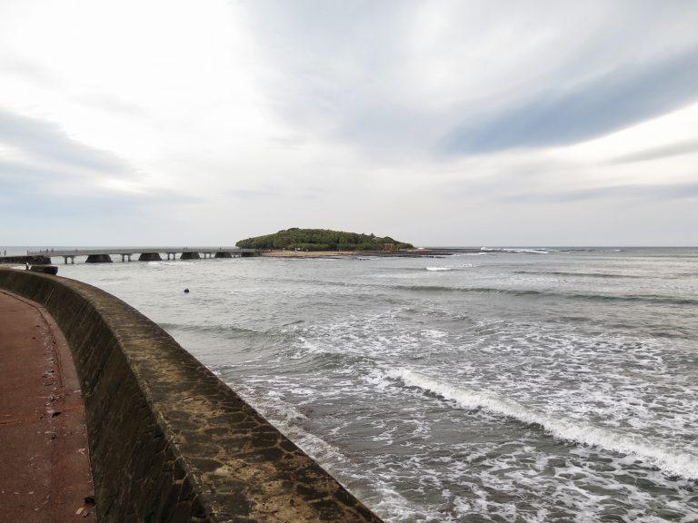 九州自由行-鹿兒島自由行-日本機加酒-圖中的小島就是青島了