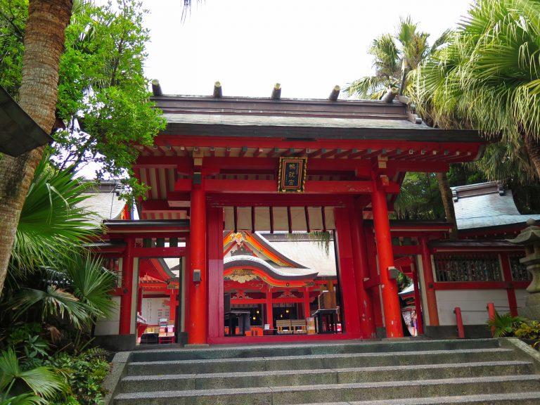 九州自由行-鹿兒島自由行-日本機加酒-青島神社正門