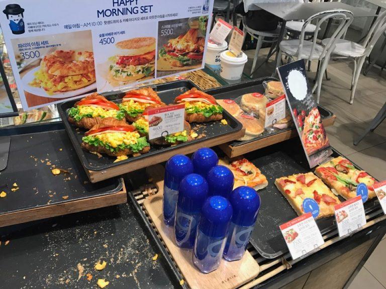 ParisBaguette早餐套餐-首爾自由行-韓國自由行-韓國旅遊-首爾景點-韓國機票