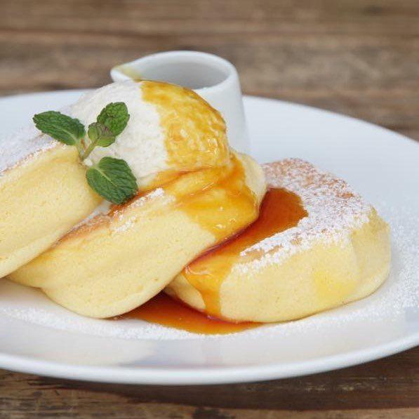 東京自由行-東京必去-東京景點-東京旅遊原味Pancake(圖片來源:A Happy Pancake Instagram)