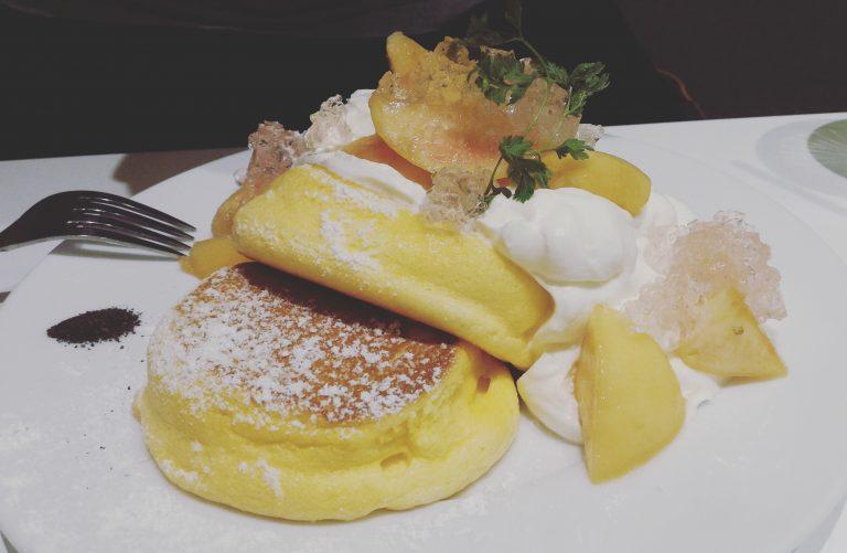 東京自由行-東京必去-東京景點-東京旅遊國產白桃玫瑰果Pancake(連稅1480)