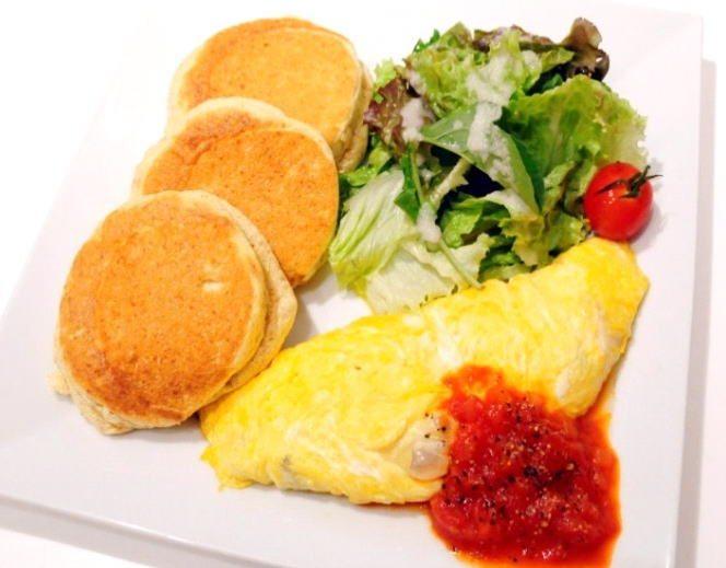 東京自由行-東京必去-東京景點-東京旅遊東京景點:除了Pancake也有賣奄列(圖片來源:A Happy Pancake官網)