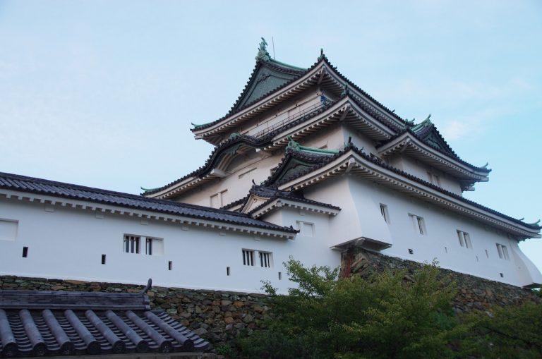 大阪自由行-大阪景點-和歌山城外觀