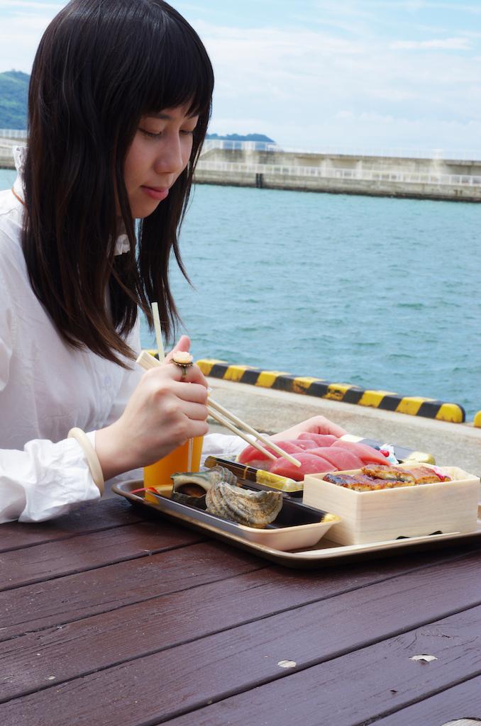 大阪自由行-大阪景點-海景與海風作調味料