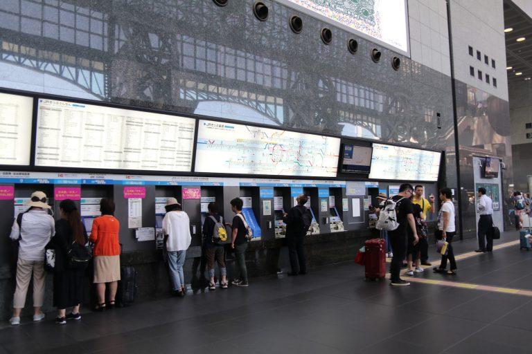 京都車站內-大阪自由行-大阪景點-京都自由行-京都景點