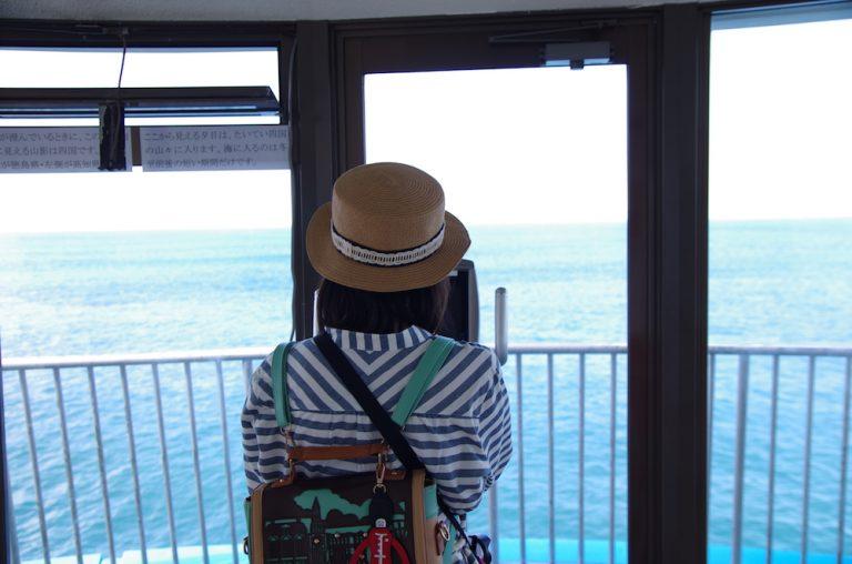 大阪自由行-大阪景點-白濱海中展望塔