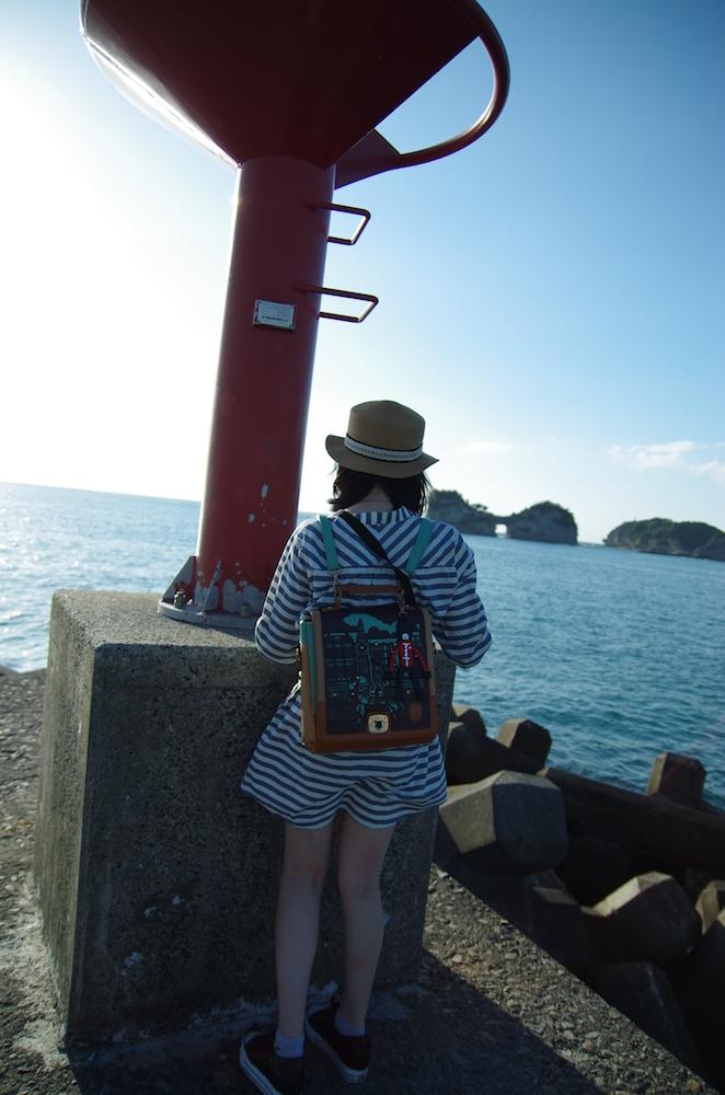 大阪自由行-大阪景點-配合小燈塔和碼頭