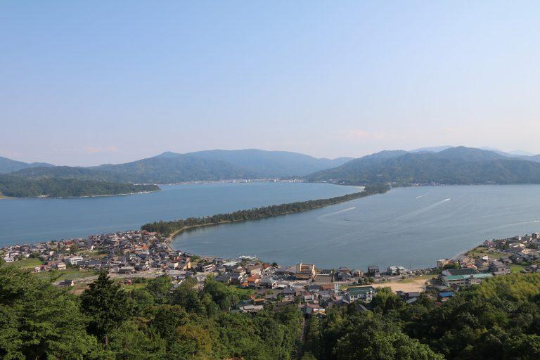 俯瞰天橋立的景色-大阪自由行-大阪景點-京都自由行-京都景點