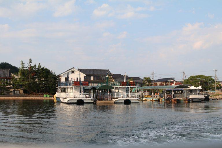 乘坐觀光船丹後半島-大阪自由行-大阪景點-京都自由行-京都景點