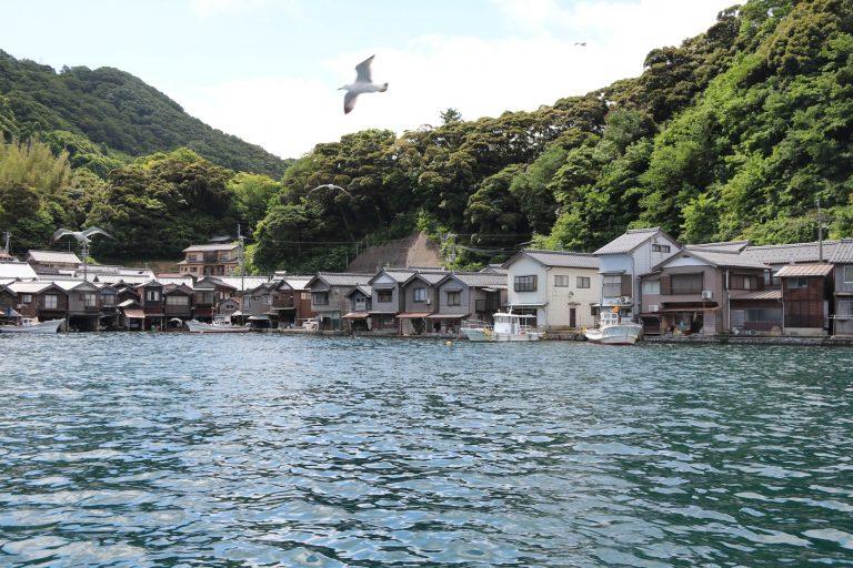 以不同角度欣賞舟屋群-大阪自由行-大阪景點-京都自由行-京都景點