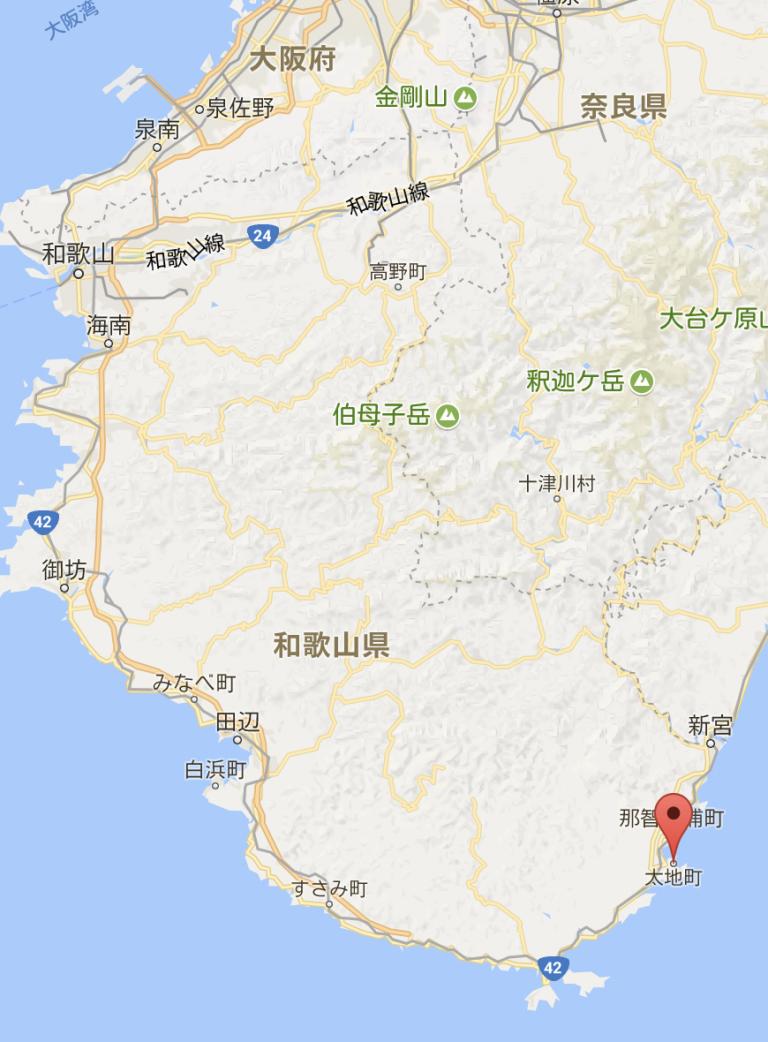 大阪自由行-大阪景點-googlemap