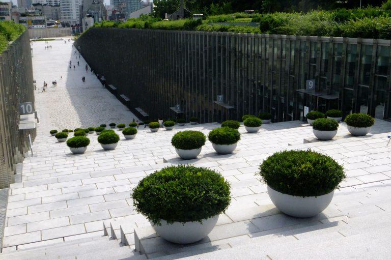 首爾自由行韓國自由行韓國旅遊首爾景點樓梯旁就是很好認的Campus Complex