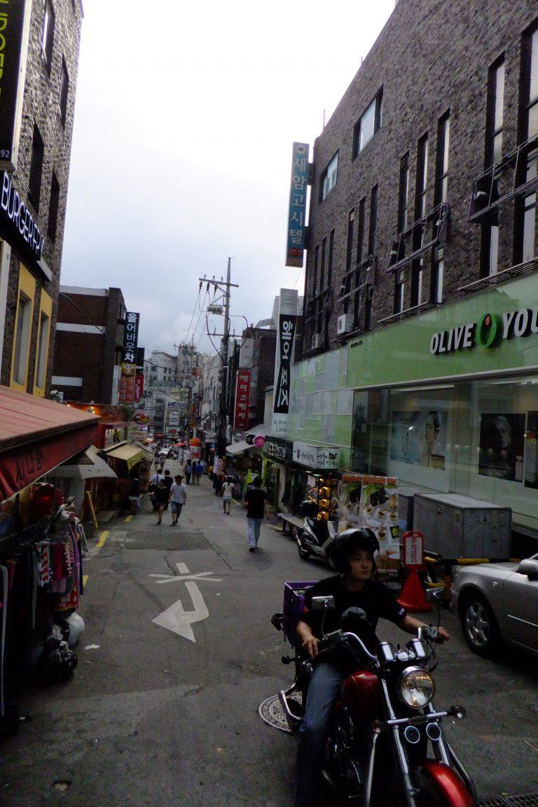 首爾自由行韓國自由行韓國旅遊首爾景點首爾自由行梨大商店街