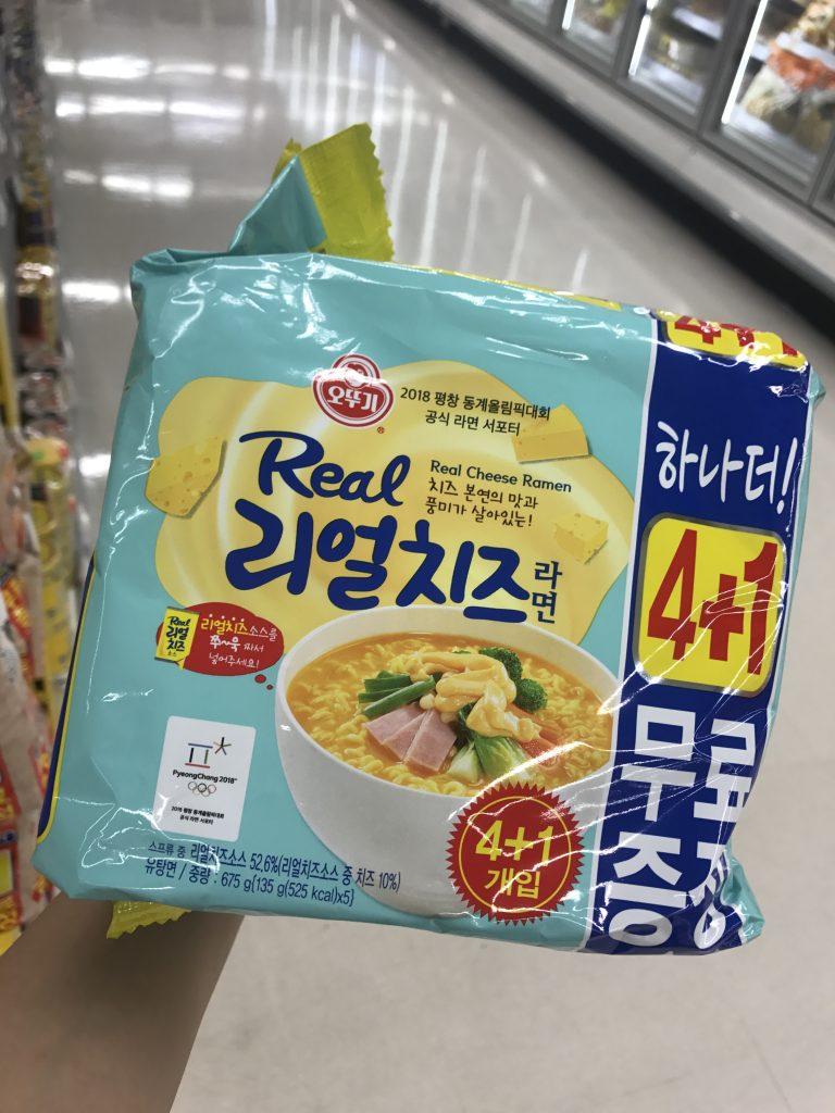 芝士味特澴的Real芝士即食面-首爾自由行-韓國自由行-韓國旅遊-首爾景點-韓國機票