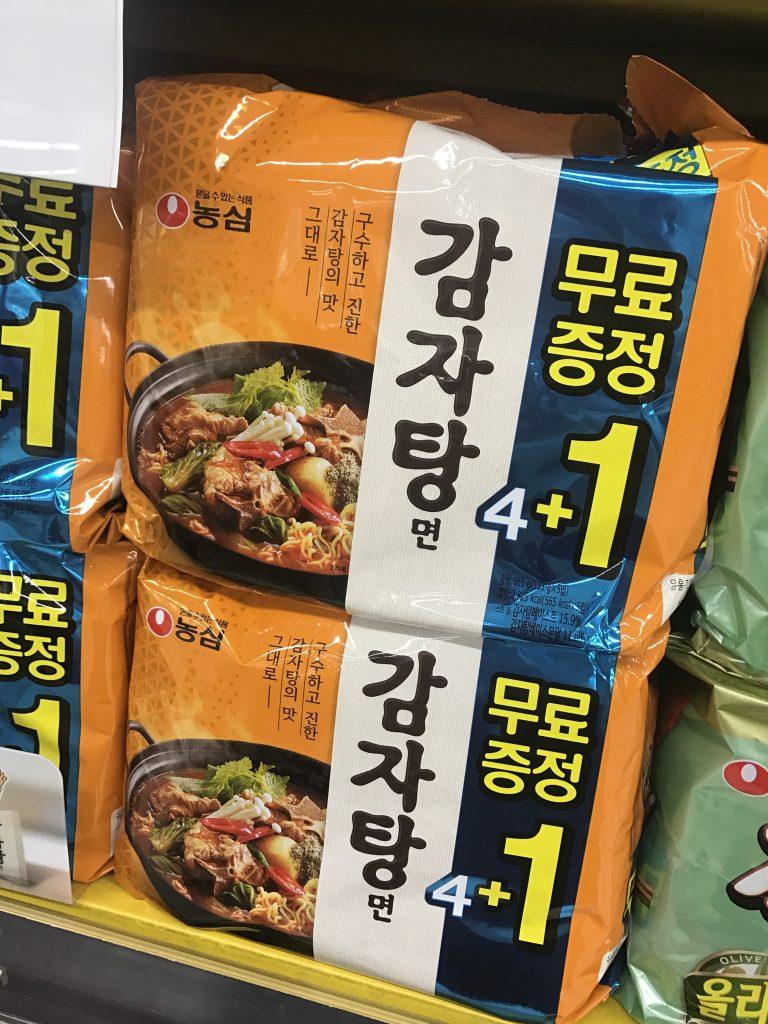 農心的馬鈴薯排骨湯-首爾自由行-韓國自由行-韓國旅遊-首爾景點-韓國機票