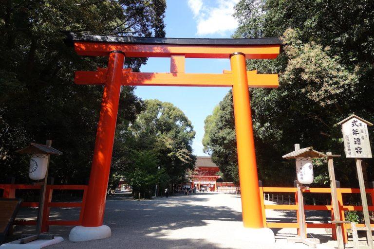 京都自由行-京都景點-下鴨神社鳥居